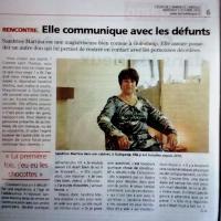 Sandrine MARTINA, l'Echo de l'Armor et de l'Argoat 2016