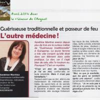 Sandrine MARTINA, le Flanneur 2014