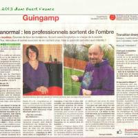 Sandrine MARTINA, Ouest France 2013