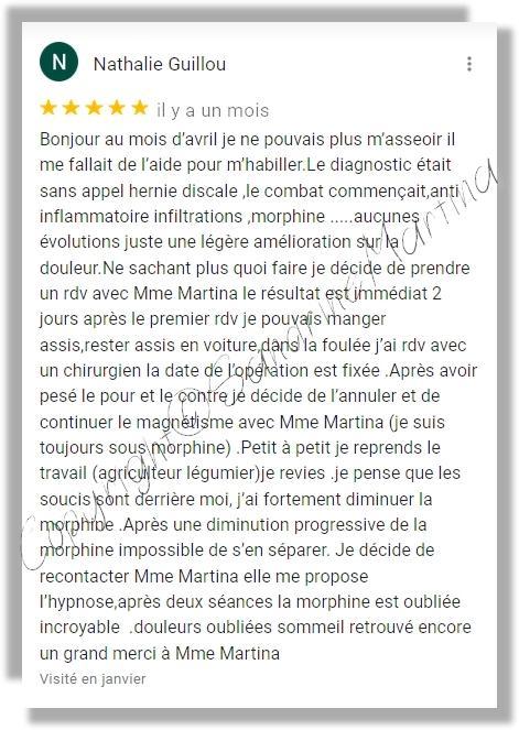 Avis sandrine martina 2021 google 1 2 copyright