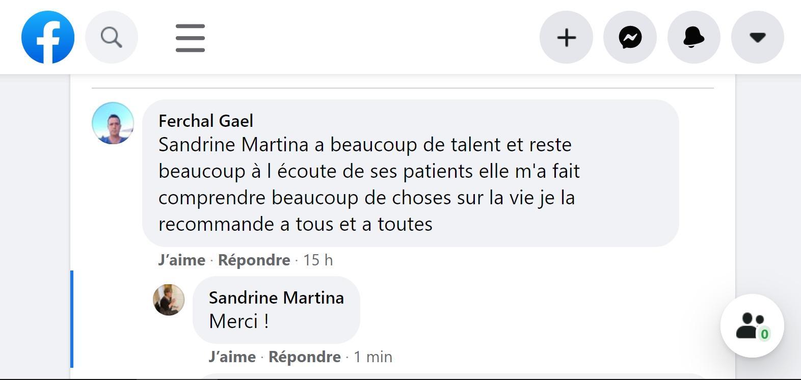 Sandrine MARTINA Hypnose & Magnétiseur