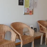 Cabinet de Sandrine Martina, salle d'attente