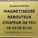 Plaque professionnelle sandrine martina 3