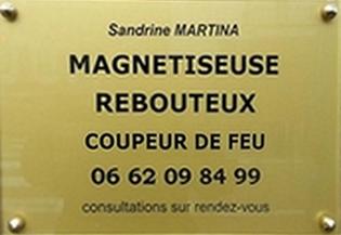 Plaque Professionnelle Sandrine Martina 7