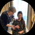Sandrine martina seance hypnose au cabinet guingamp