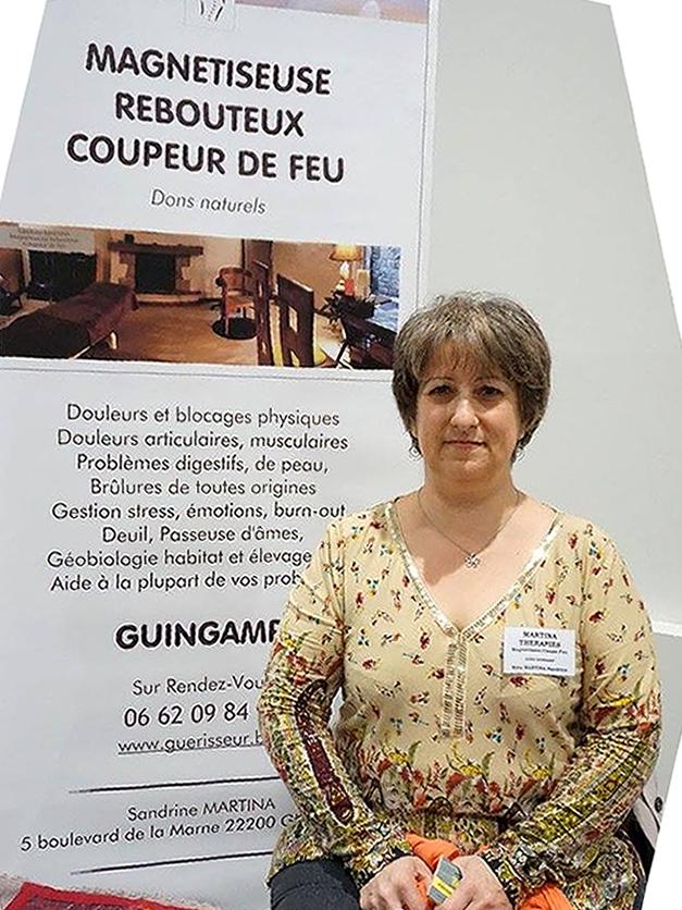 Sandrine Martina magnetiseur Guingamp