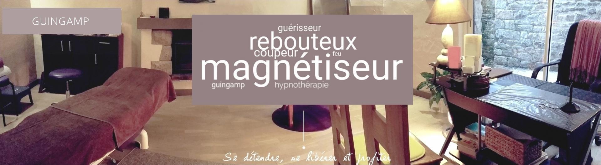 MAGNETISEUR - HYPNOTHERAPEUTE - REBOUTEUX