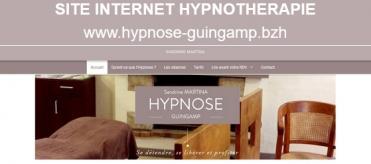 Site internet hypnotherapie hypnose guingamp
