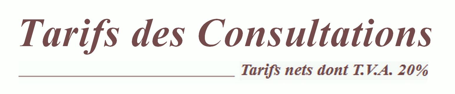 Tarifs consultations 0 2